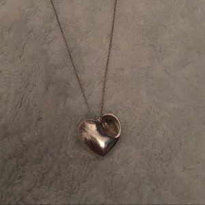 Tiffany and Co. Silver Heart